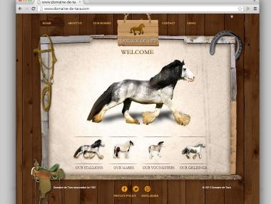 Horse Farm Website Design