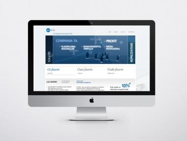 HR Software website design