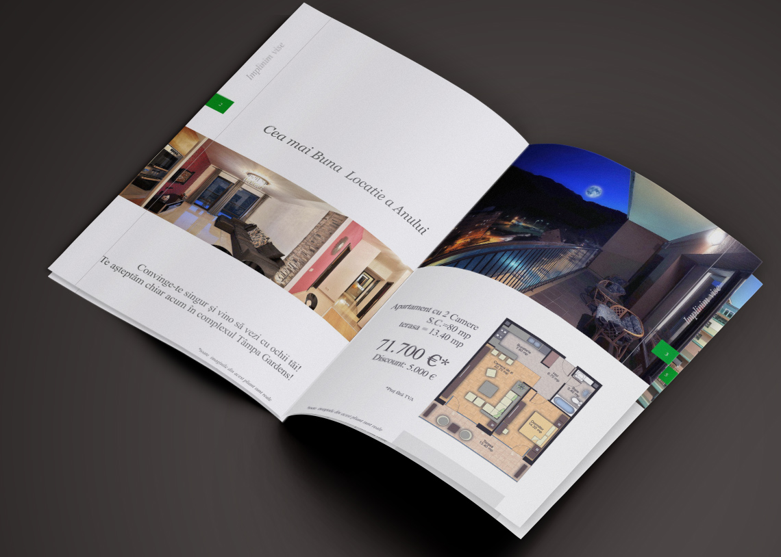 Real Estate Brochure Design Visual Identity